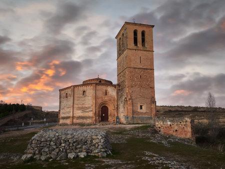 Church of La Veracruz, Segovia, Castilla y Leon, Spain