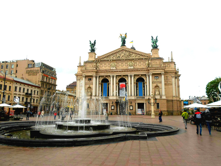 Lviv State Academic Theatre of Opera and Ballet, Spring 2016, Lviv, Ukraine