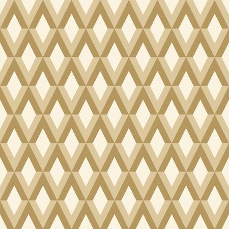 Abstract shape brown pattern. Ilustração