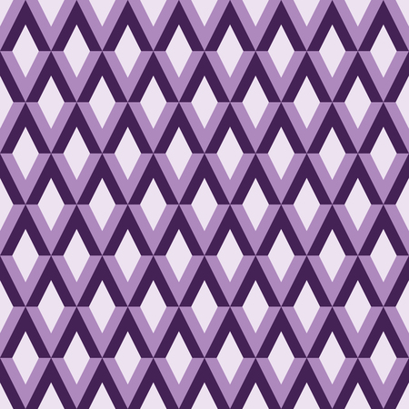 Abstract pattern with rhombus, seamless vector illustration, retro background