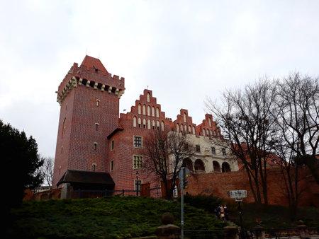Poznan, Poland - December 02, 2017: The Royal Castle in Poznan Editorial
