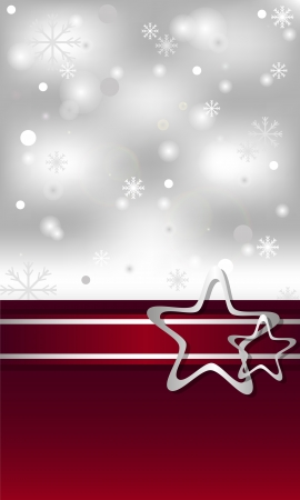 selebration: christmas card with different bright decorations Illustration
