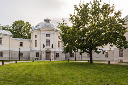 Old Anatomical Theatre in Tartu, Estonia. Anatomical Theatre was workplace for many prominent doctors and scientists of the 19th century.