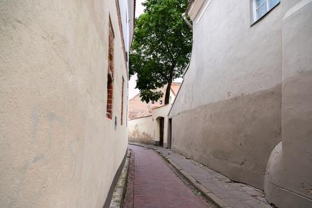 Vilnius old town street, Lithuania Reklamní fotografie