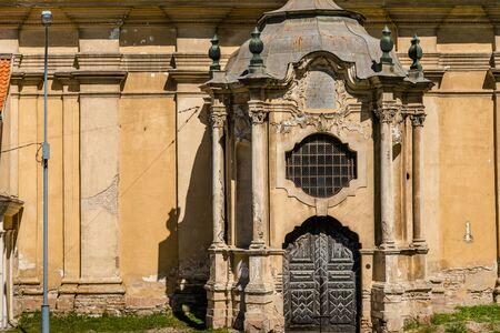 Old church in Vilnius. LITHUANIA, VILNIUS, May, 2019.