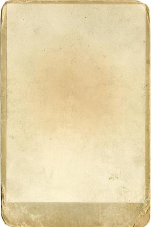 oude geel getextureerde fotopapier met een frame Stockfoto