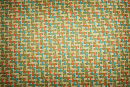rug textured fabric in three colors green photo