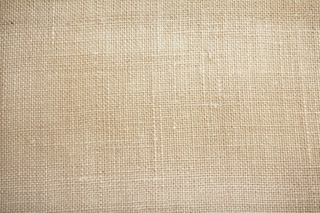 white fabric: canvas texture with vingette close up Stock Photo