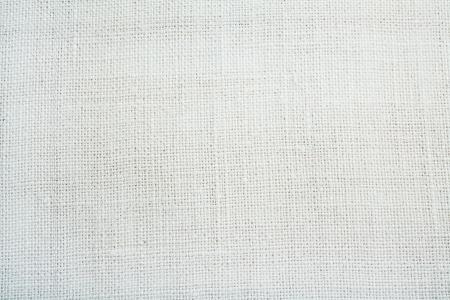 tissu blanc: texture de toile avec vingette close up