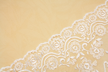 abstract wedding background decorated with lace photo