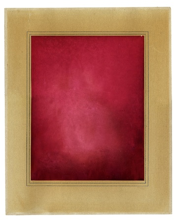 Retro photo framework with red aged photo paper background Stock Photo - 12121524