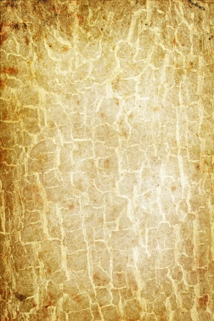 spoiled frame: old cracked paper grunge background with space for text or image