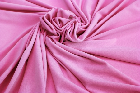 nice pink jersey fabric textured close up photo