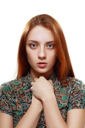 bulling: Adolescente Joven Mirando Rebelde