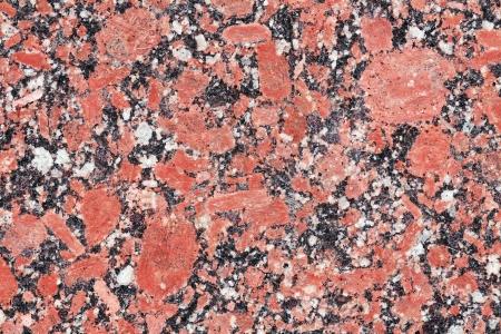 stria: Red Granite stone.