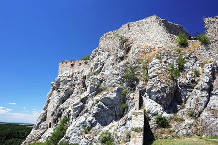 slovak: Ruins of Devin castle in Slovak Republic