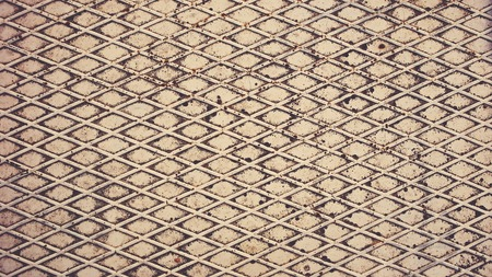 Texture of metal. Seamless Textures. Retro filter toning Stock Photo