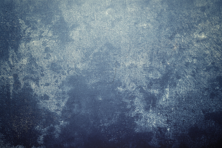 textured hand painted canvas photography background with blue shade
