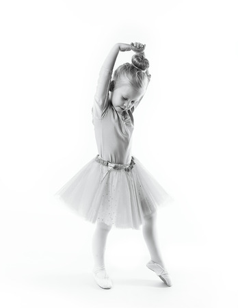 beautiful 4 years old little girl dancer performer