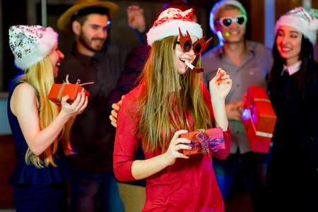 Young peoples christmas party