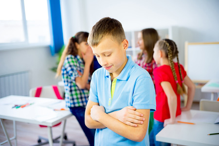 School bullying concept Stock Photo