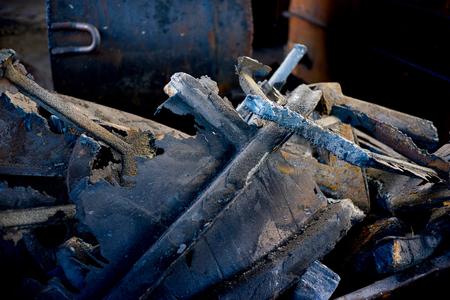 magnetite: Pieces of iron