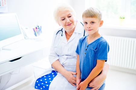 子ども診療所 写真素材