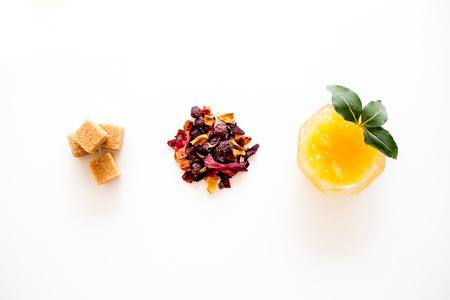 Things for tea Standard-Bild
