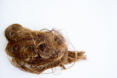 Image of damaged hair Stock Photo