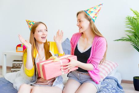 Lesbian teen sleepover, soft teen movie rental