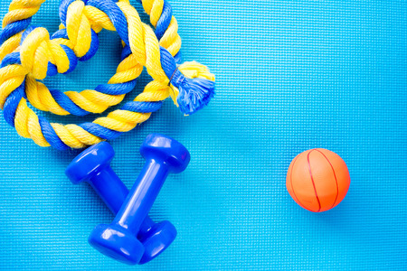 Objects for sport Stock Photo