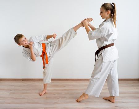 Karaté enfants entrainement