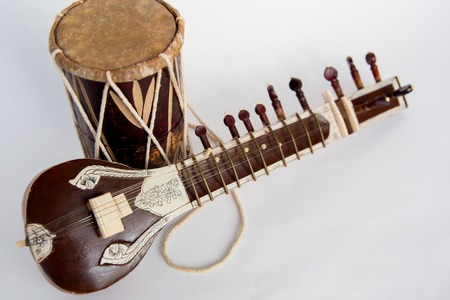 a group of musical instruments