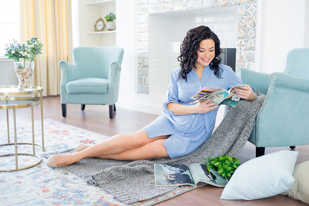 woman expecting a baby Stock Photo