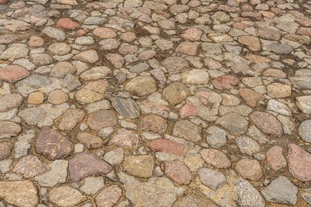 old paving stones. stone background 版權商用圖片