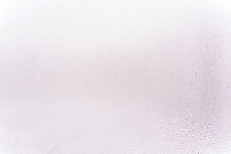 wet glass texture. light background Banque d'images