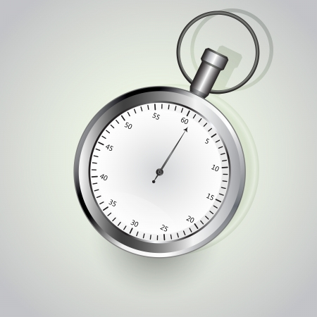 timescale: Stop watch isolated on white background illustration  Illustration