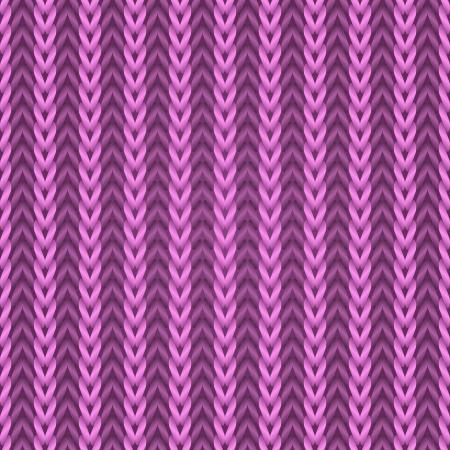 knutsel spullen: Naadloze roze breien weefsel patroon