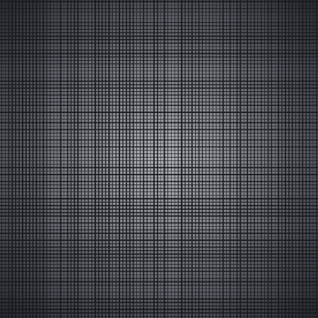 Dark brushed metal illustration texture  Vector