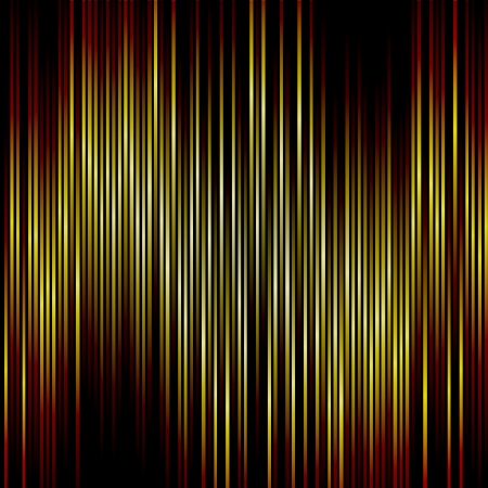 banding: Orange and yellow vertical stripes background  Illustration