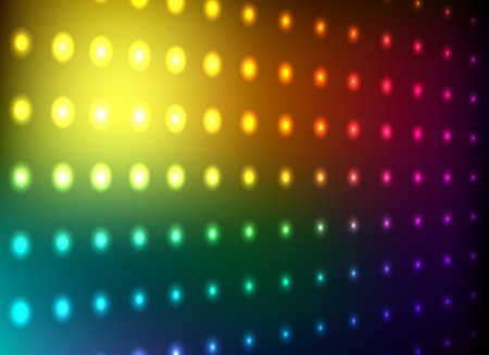 Colorful club light wall vector background  Vector