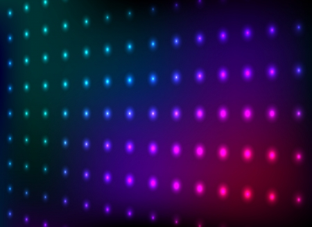 club lights: Abstract colorful club lights wall vector background