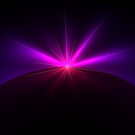 Space light flare background with copy space.