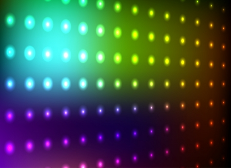 nightclub: Colorful club di luce muro di fondo Vettoriali