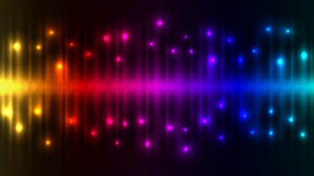 Abstract color lights background  Illustration