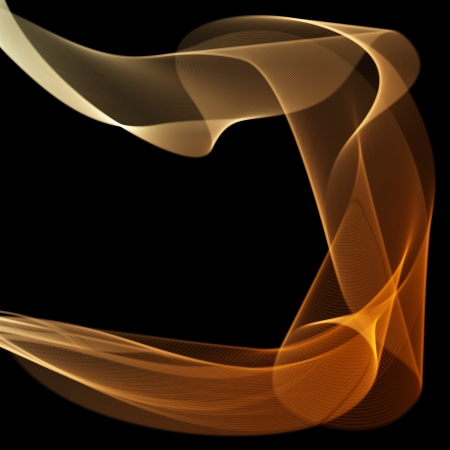 Abstract fire flame vector background with copy space  Vector