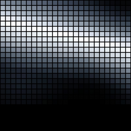 Metallic colored dark mosaic background  Stock Vector - 14907900