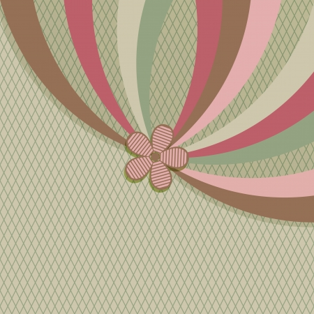Vintage stripes  background with copy space  Stock Vector - 17088361