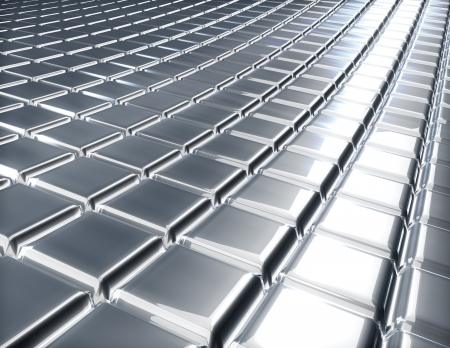 metal surface backdrop: Abstract 3D embossed metal surface industrial background