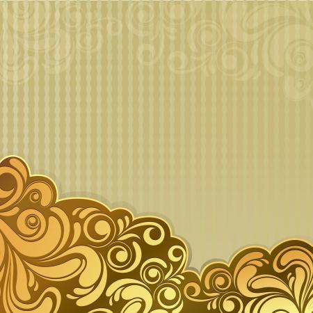 letras doradas: Resumen de antecedentes de cosecha de flores de oro, con copia espacio